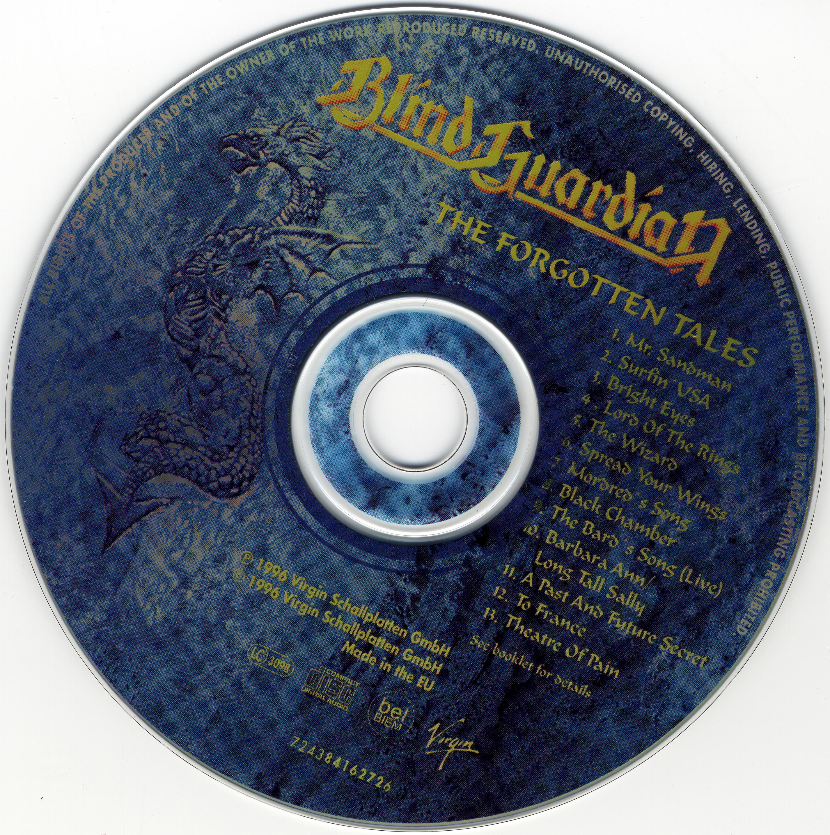 the forgotten tales 39 keeper blind guardian albums the forgotten tales. Black Bedroom Furniture Sets. Home Design Ideas